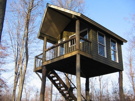 5 luxury deer stands for How to make a deer stand out of wood