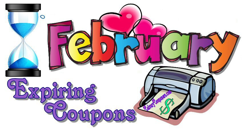 February Expiring Coupons