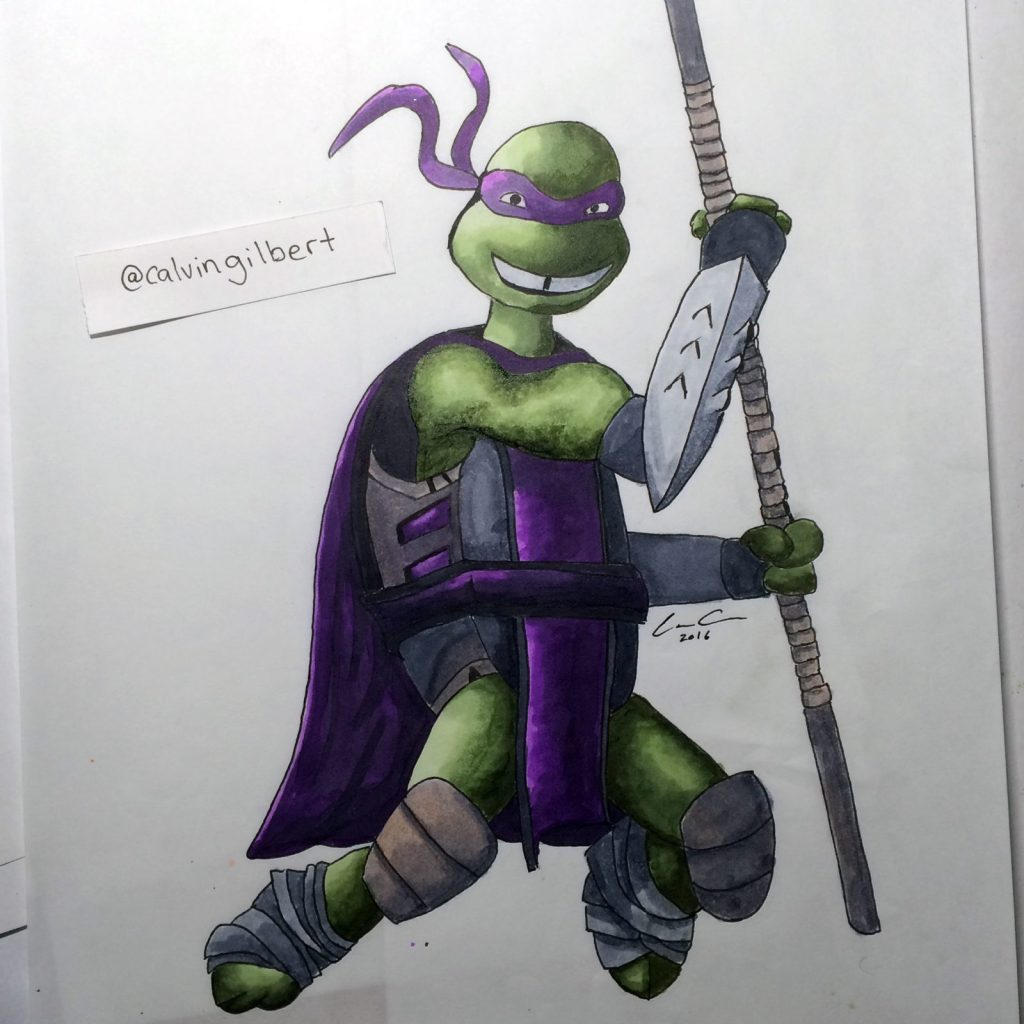 Donatello-Shredder-Finished