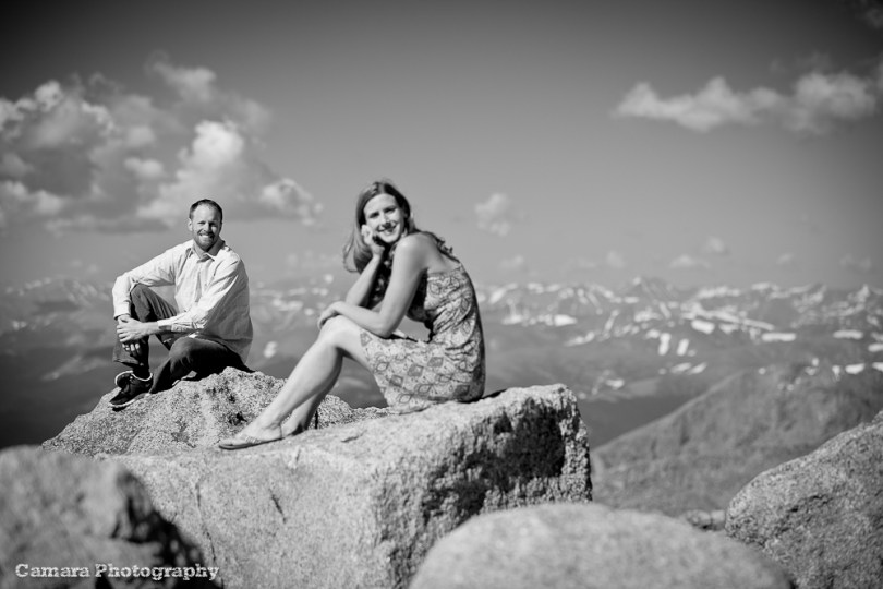 Colorado Wedding Photographers - Mt Evans, CO Engagement shoot