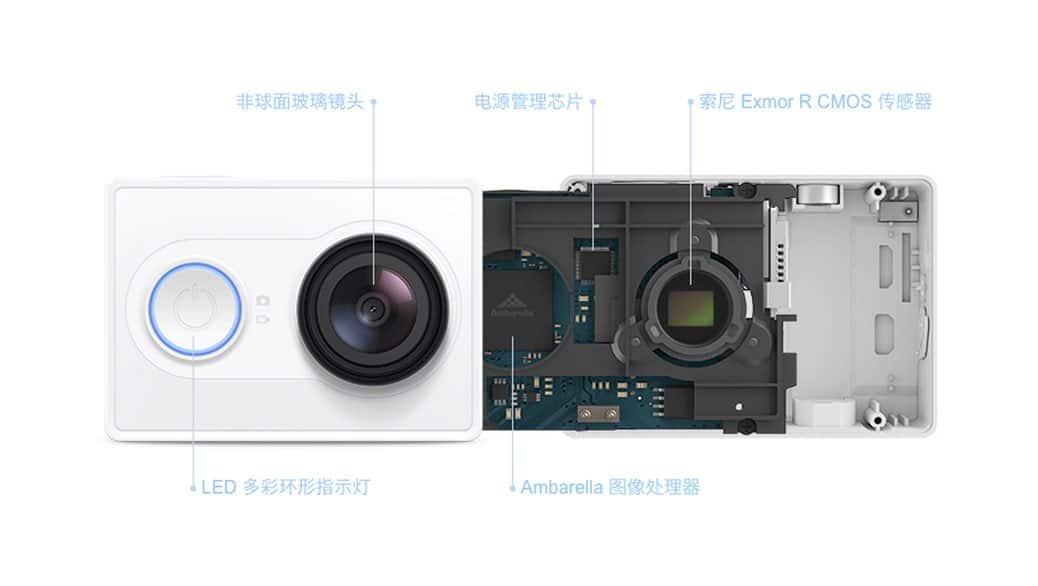Yi Action Camera – Xiaomi compite contra GoPro y sus