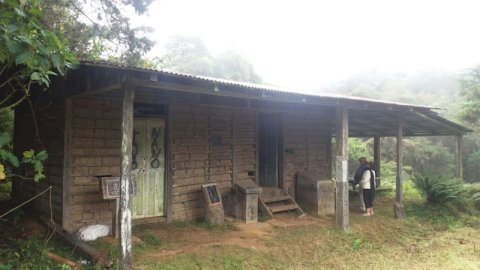 El refugio centenario de El Cerro de la Muerte