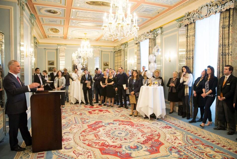 Long Service Awards at The Lanesborough Hotel London by Cameo Photography 10