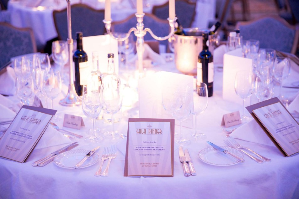 Event Photographer London Hospice UK Gala Dinner at The Savoy 02