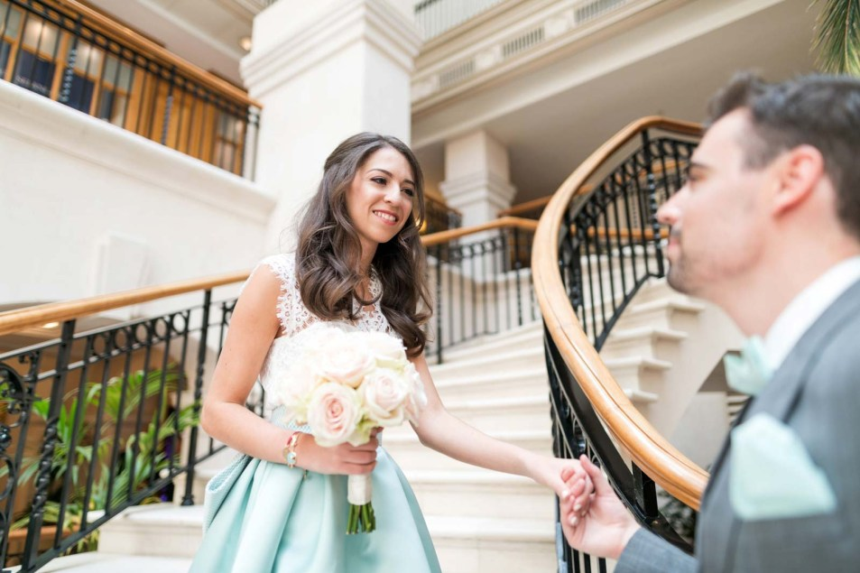Wedding Photography at The Landmark London Florian & Imane24