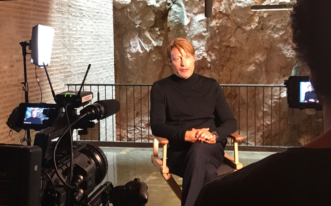 Occhio Social Media Content with Mads Mikkelsen