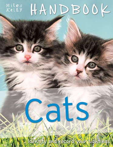 Amazing photography and illustration helps kids identify each cat breed.