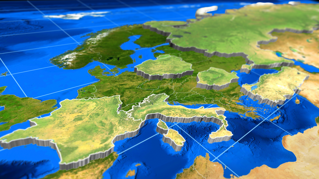 3D Extrude World Map by ShapeShifters Inc   VideoHive 3D Extrude World Map