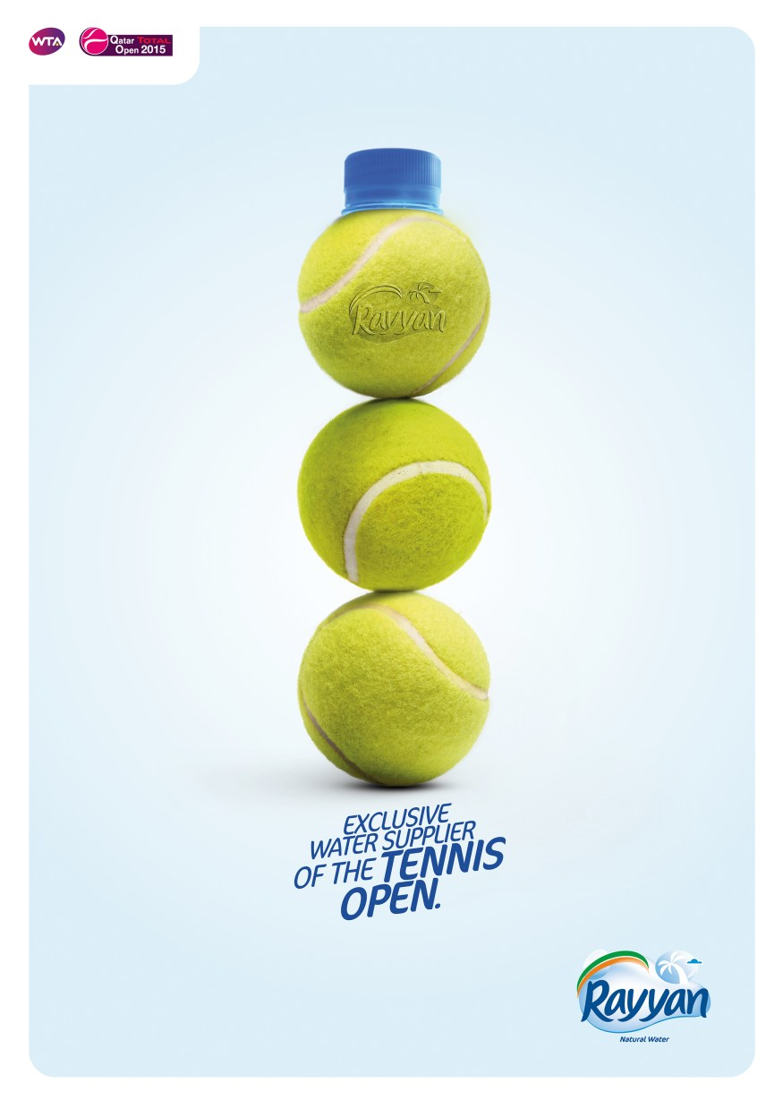 RAYYAN WATER sponsor tennis DEF ENGLISH