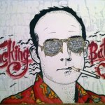 Hunter S. Thompson graffiti