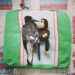Not even magpies can resist a monkey