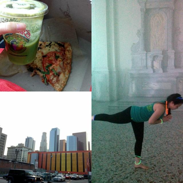 yoga rave LA