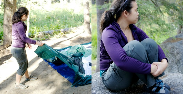 Kam of Campfire Chic shares her favorite pair of pants for hiking, climbing, and road trips - Campfire Chic