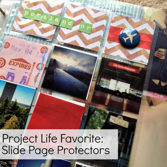 Project Life Page Protectors for Telling a Story - Campfire Chic