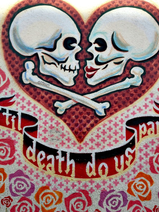 Till Death Do Us Part Mural in Austin - Campfire Chic