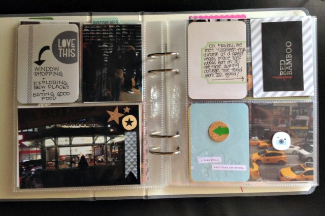 6x8 Scrapbook Album Using Pocket Pages - Campfire Chic