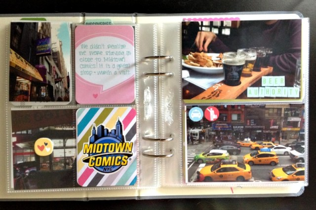 Scrapbooking New York City - Campfire Chic
