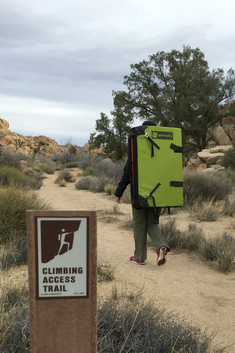 Rock Climbing in Joshua Tree National Park - Campfire Chic