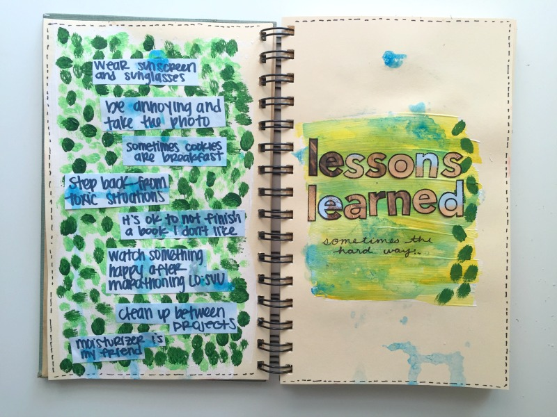 Messy Lists Art Journal and Lists Challenge with 30 Days of Lists Team - Campfire Chic