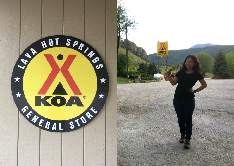 KOA Lava Hot Springs Idaho - Campground Review on Campfire Chic