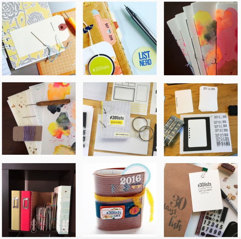 S16 30 Days of Lists Instagram Grid 2