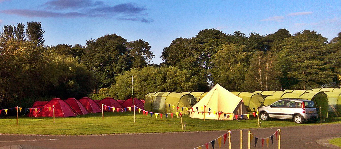 Bell Tents and Pre-pitched Tents at Edinburgh Festival and Fringe Camping