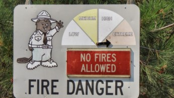 too many wildfires mean no campfires