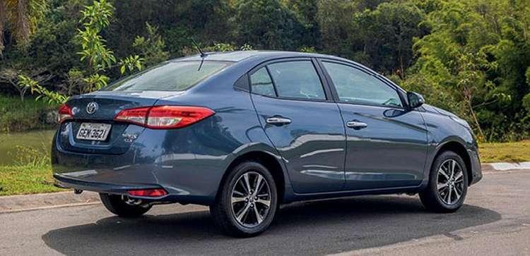 Toyota Yaris Sedan (Foto: Divulgação)