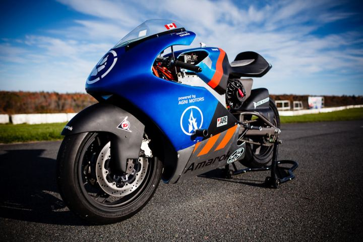 electric motorcycle racing