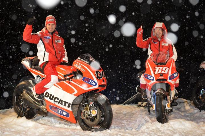 Is all the hype over the new GP13 a snow job? Hopefully not - it'd be great to see Ducati in serious competition in MotoGP again.