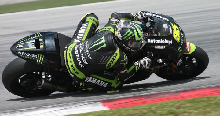 Cal Crutchlow put in a respectable performance at Sepang. Photo: MotoGP