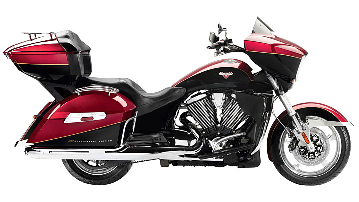 2014 Victory 15th anniversary limited edition cross country