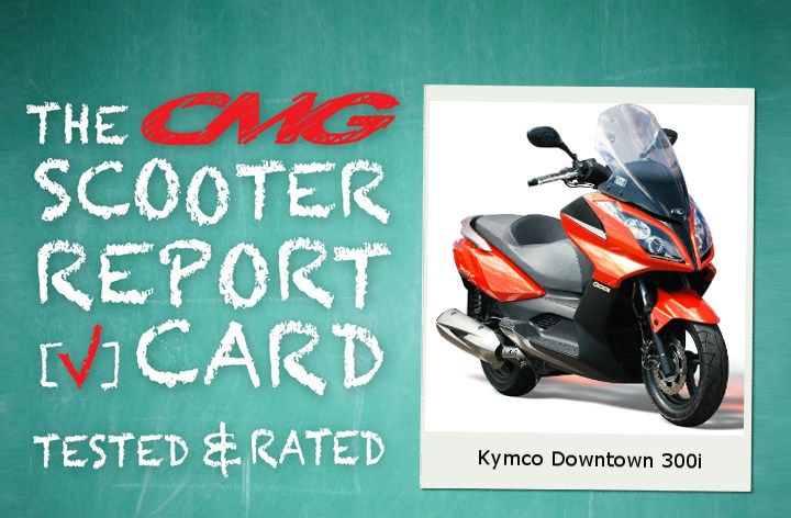 Report Card: Kymco Downtown 300i
