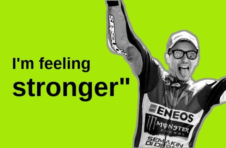 """I'm feeling stronger"": Jorge Lorenzo hopes conditioning will help him continue win streak at Mugello"