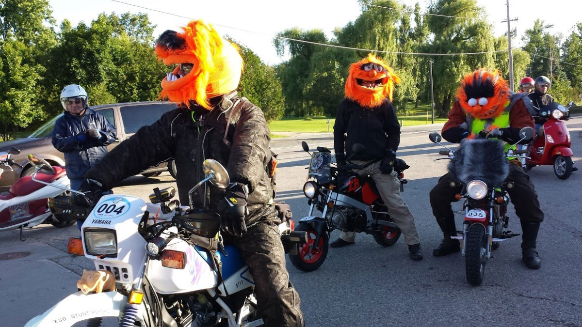 The 2015 Mad Bastard Scooter Rally - a rider's perspective