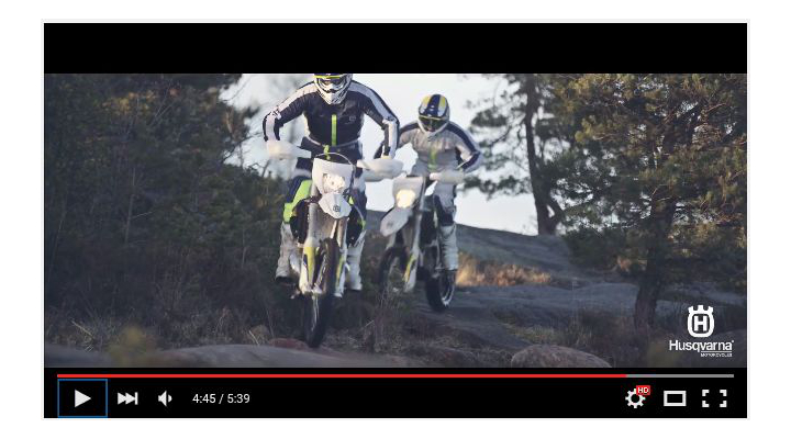Husqvarna's latest video will make you want to go ride a dirt bike