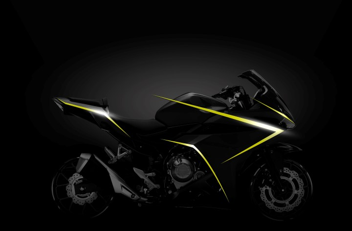 Updated Honda CBR500R to appear at EICMA