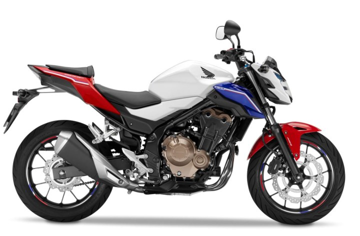 EICMA: Honda's CB500F gets visual update
