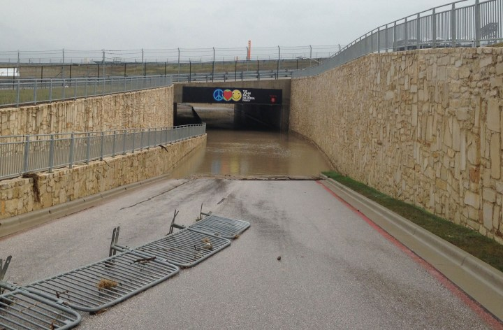 Circuit of the Americas suffers storm damage