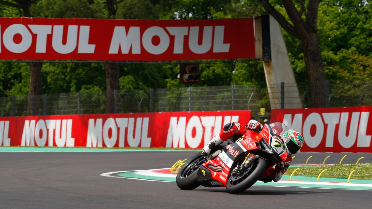 Race Results: World Superbike Imola (including Canadian results)