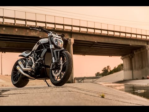 Ducati XDiavel gets the custom cruiser treatment from Roland Sands Design