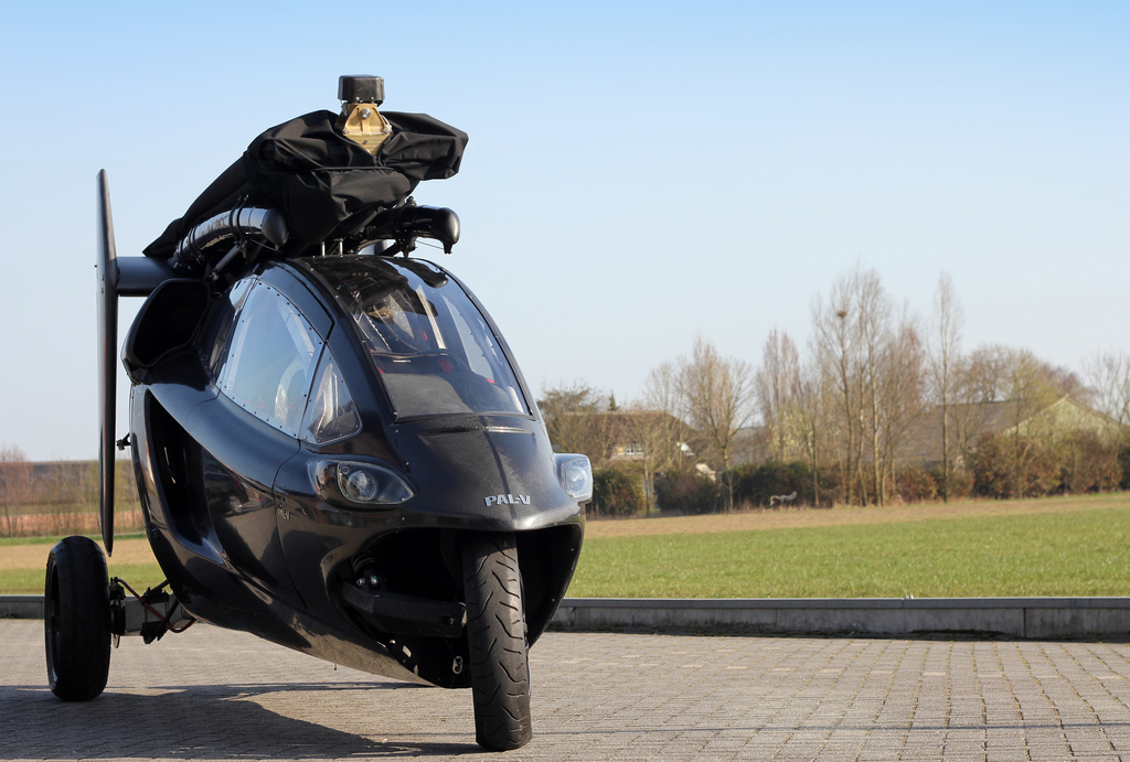 Got $775k? This flying motorcycle could be yours!