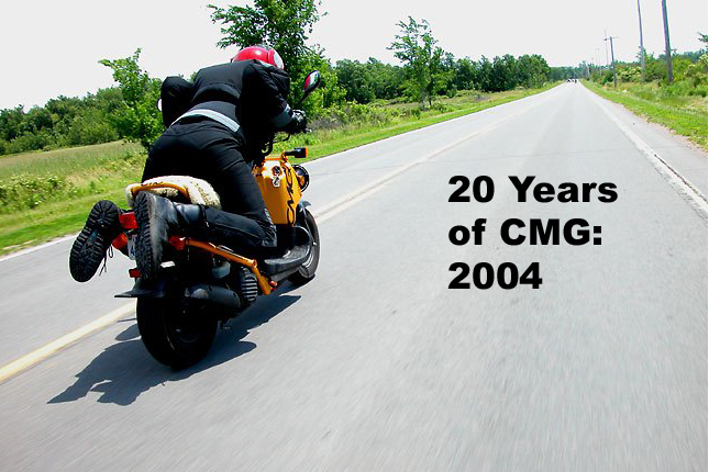 20 Years of CMG: The first Mad Bastard Scooter Rally