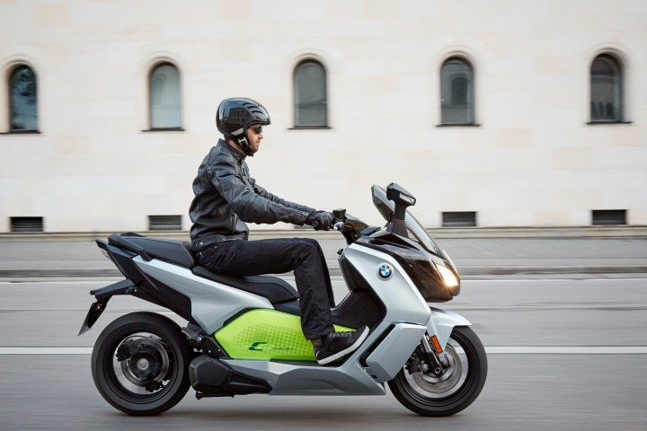Intermot: BMW C Evolution electric scooter