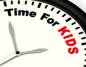 Time for kids fertility