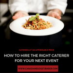 How To Hire The Right Caterer For Your Next Event : The Grocery Game Challenge 2016 #2 Sept 12-18