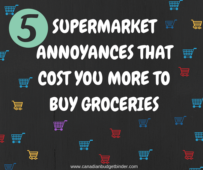 5 Supermarket Annoyances That Cost You More To Buy Groceries : The Grocery Game Challenge 2016 #3 Oct 17-23