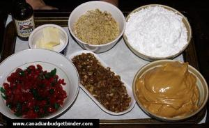 Peanut Butter Balls Ingredients
