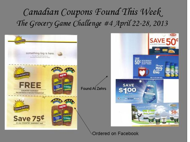 Canadian Coupons Found This Week #4 April 2