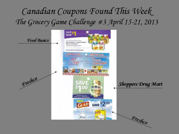 Canadian Coupons Found This Week April 14